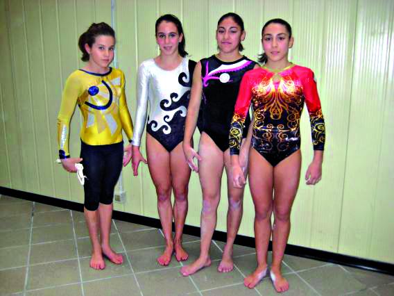 Clarissa Ciarabellini, Chiara Paoletti, Joelle Elisabeth Mattoni e Francesca Mattioli