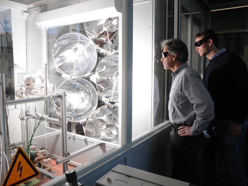Reattore solare termico