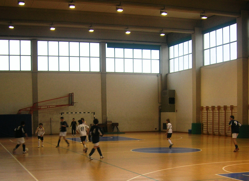 Una fase di Gagliarda - Oratorio Don Bosco allievi di calcio a 5