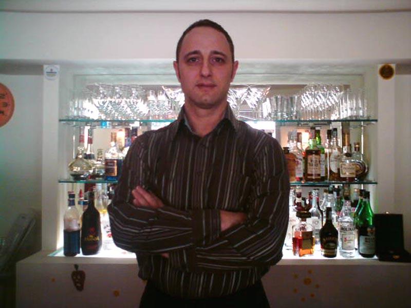 Il barman Marco Addamo