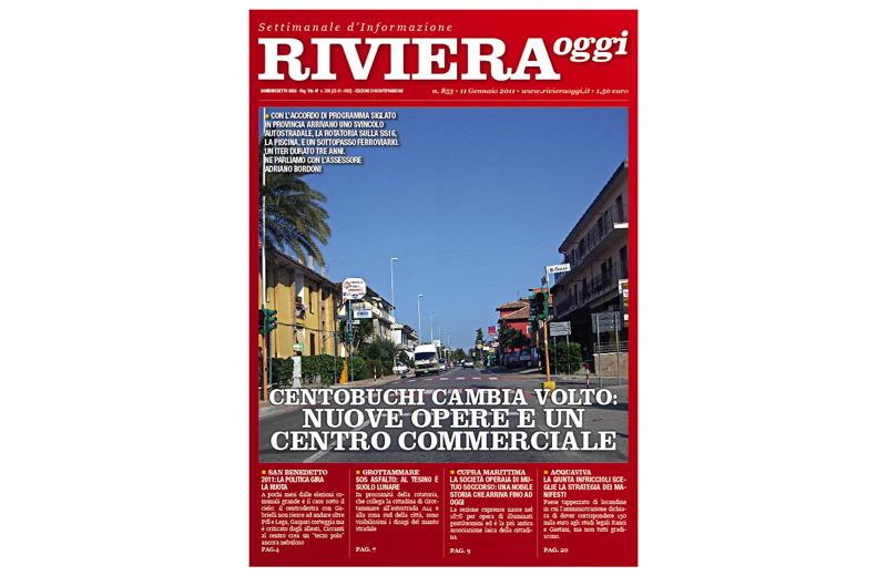 Riviera Oggi numero 853, la copertina per Monteprandone e Centobuchi