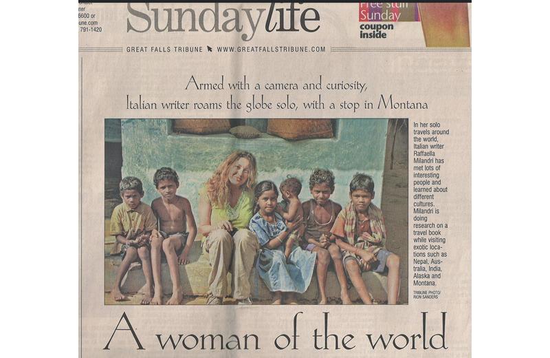 Articolo sulla Milandri su un quotidiano americano
