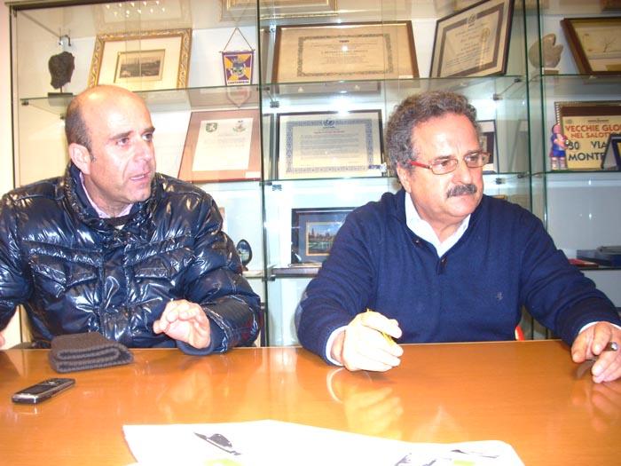 Eldo Fanini e Dante Merlonghi