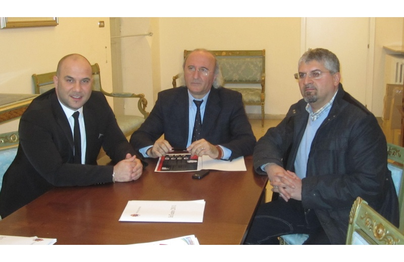 Da sinistra: Valerio Lucciarini, Giampietro Casagrande e Luigi Massa