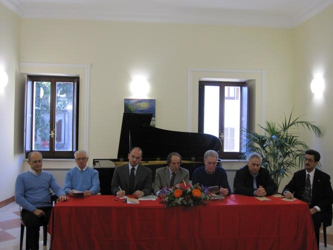 Il Cda dell'istituo Gaspare Spontini e le autorità
