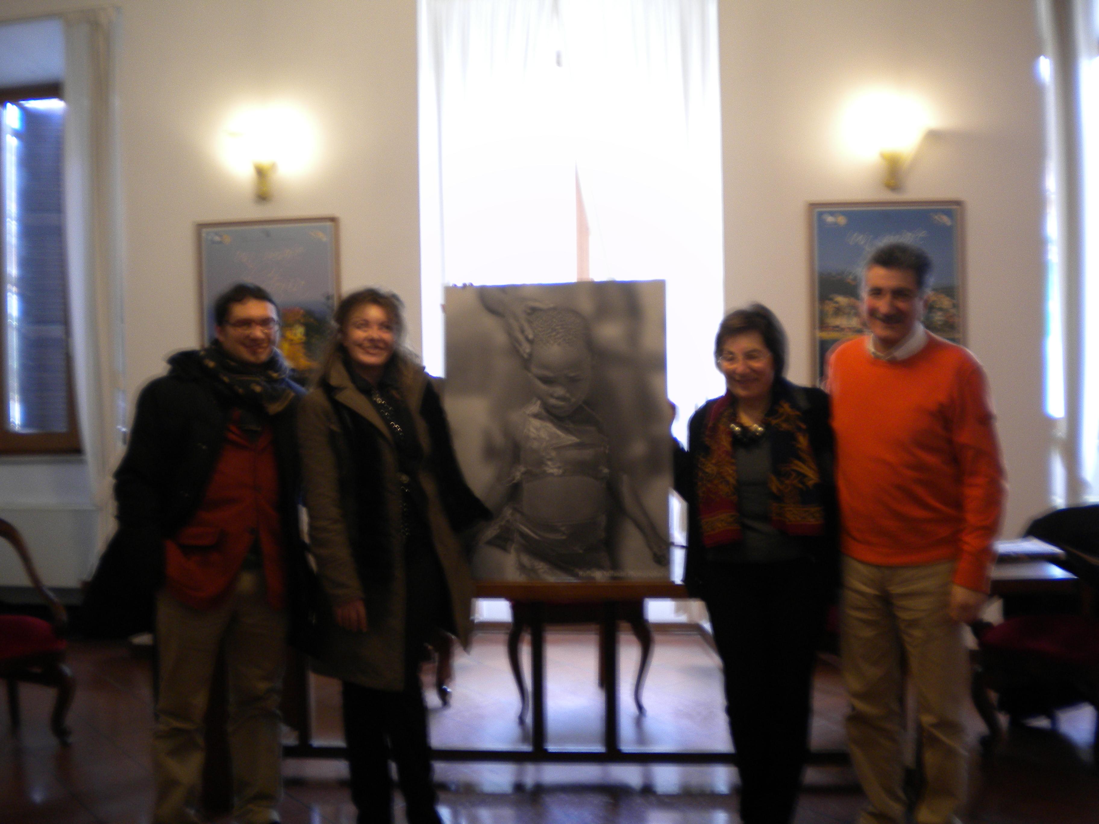 Sergio Vallorani, Raffaella Milandri, Olimpia Gobbi, Luigi Merli