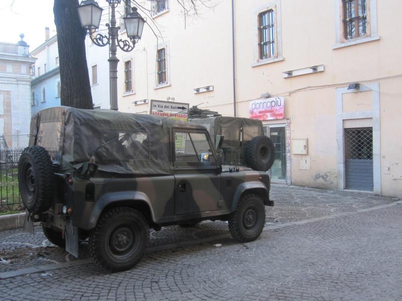 L'Aquila ancora militarizzata
