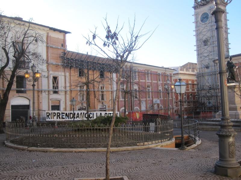 L'Aquila. Corso Umberto primo, riaperto nel Natale 2010