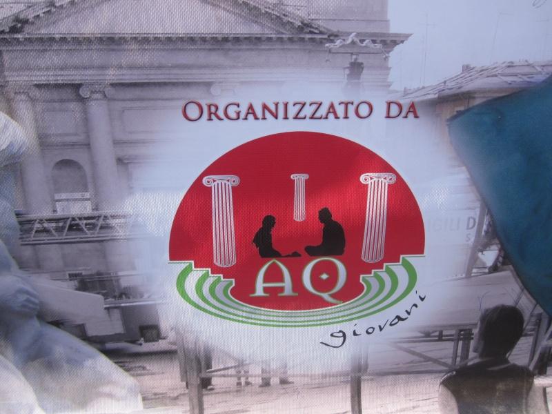 L'Aquila. Logo di AQ Giovani