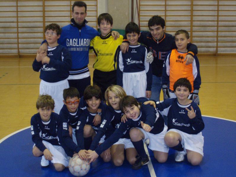 La Gagliarda B under 12 di calcio a 5