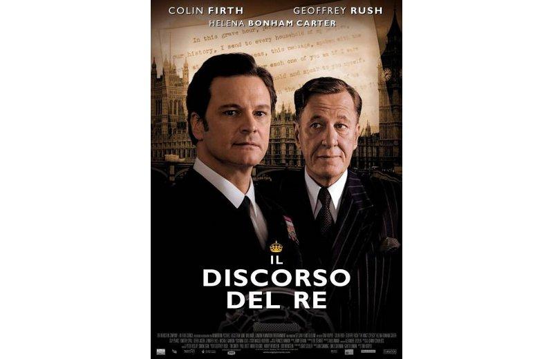 La locandina del film con Colin Firth
