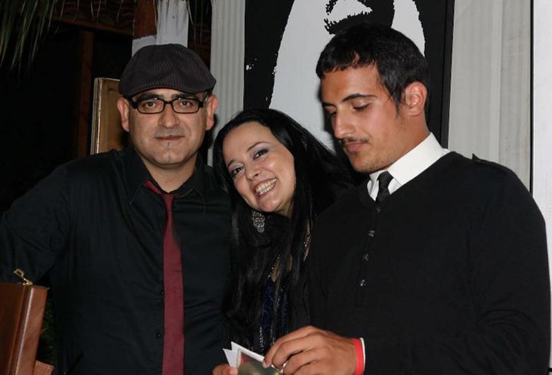 Luca D, Tania Piunti e Bond del Geko
