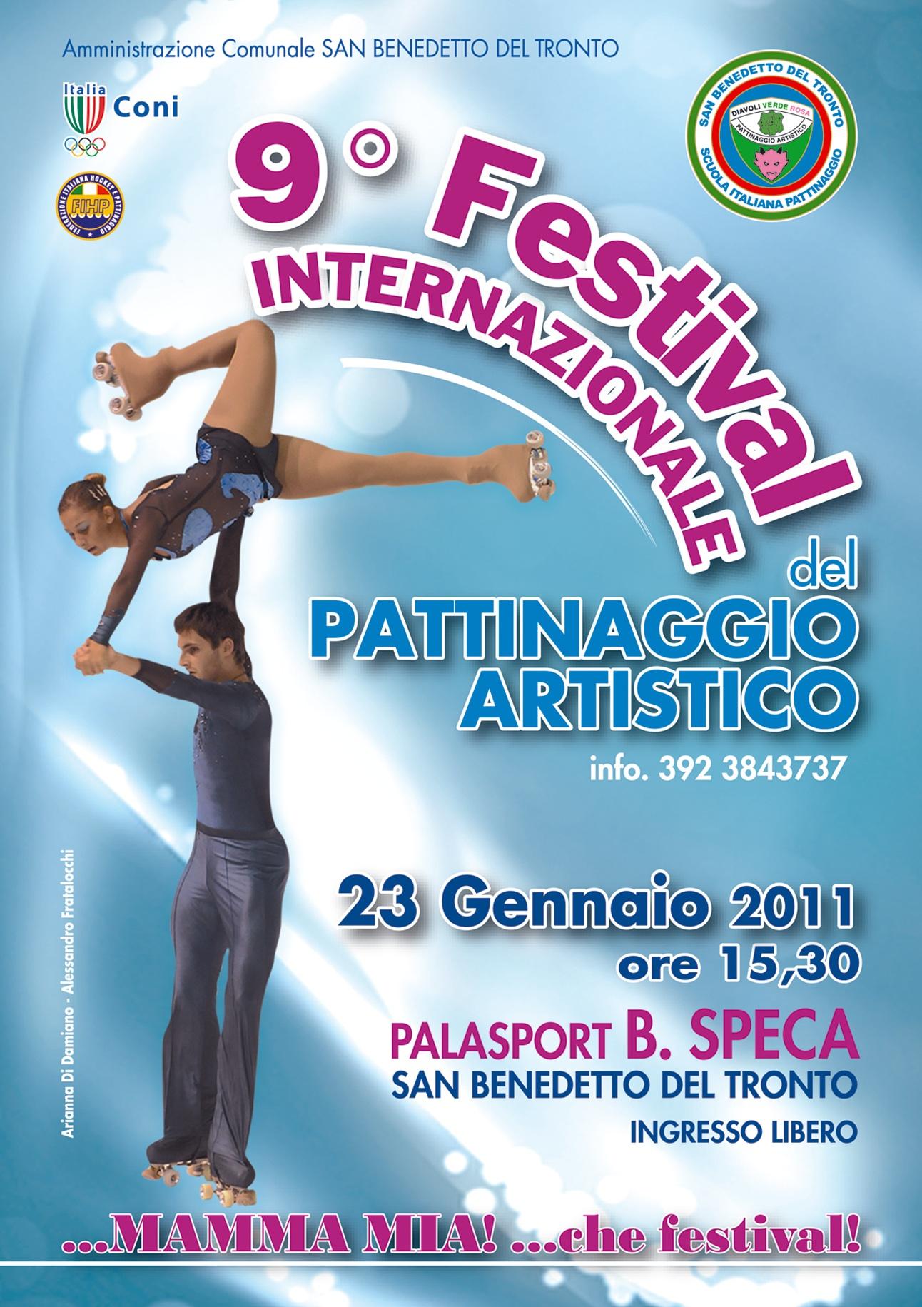 Il manifesto promozionale dell'edizione 2011 del festival
