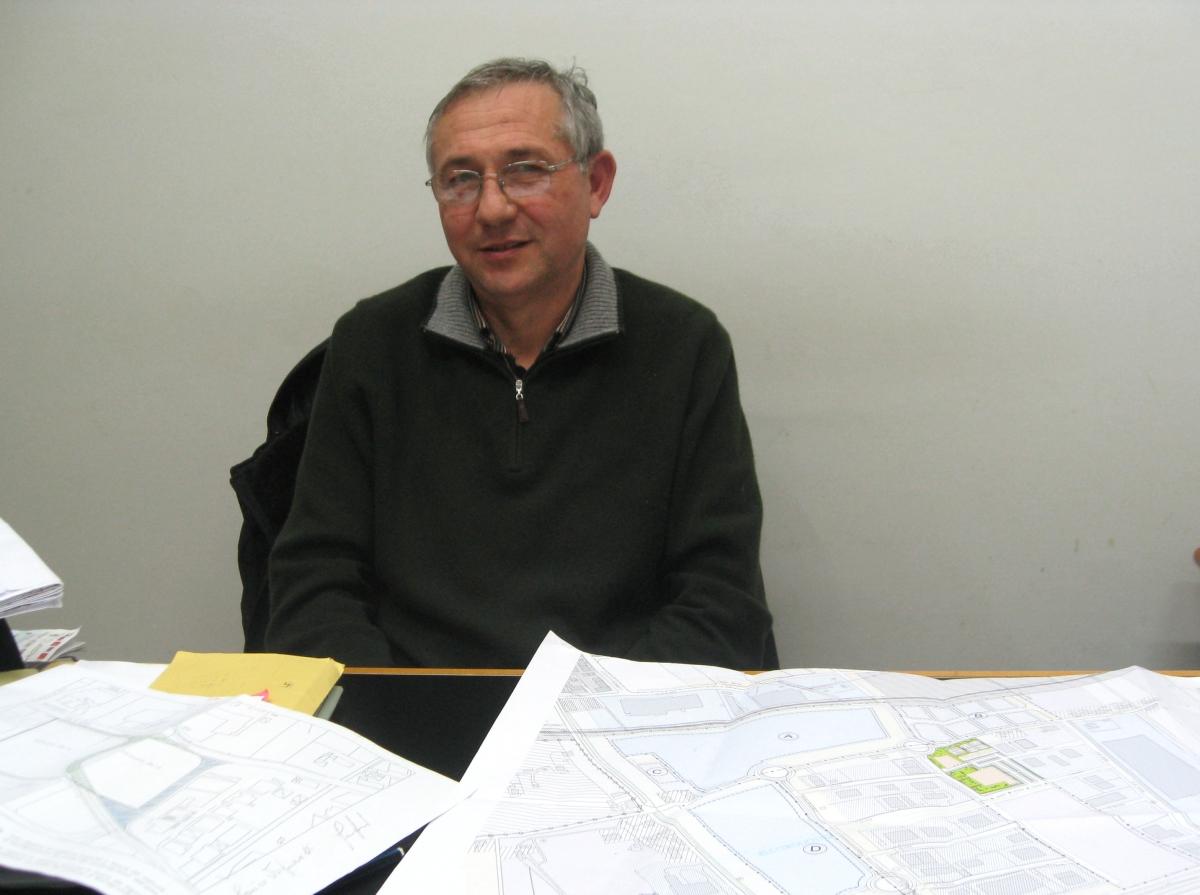 L'assessore all'Urbanistica Adriano Bordoni
