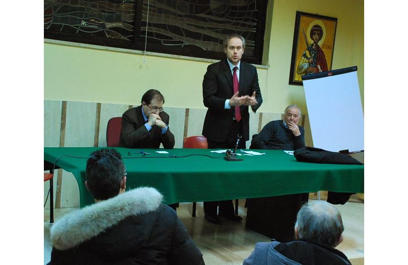 Antimo Di Francesco, Leo Sestri e Settimio Capriotti al bilancio partecipato