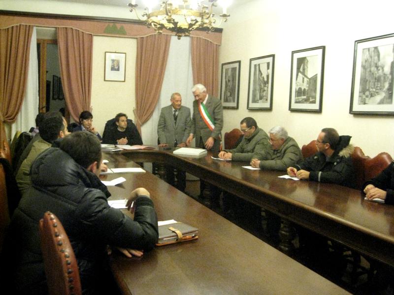 Il Consiglio comunale di Monsampolo