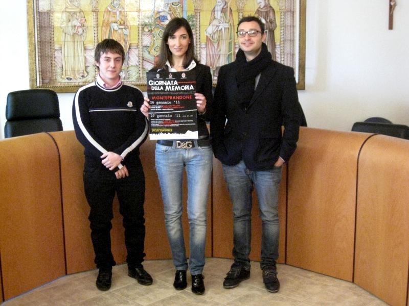 Da sinistra Paride Petrocchi, Barbara Di Cesare e Federico Aragrande