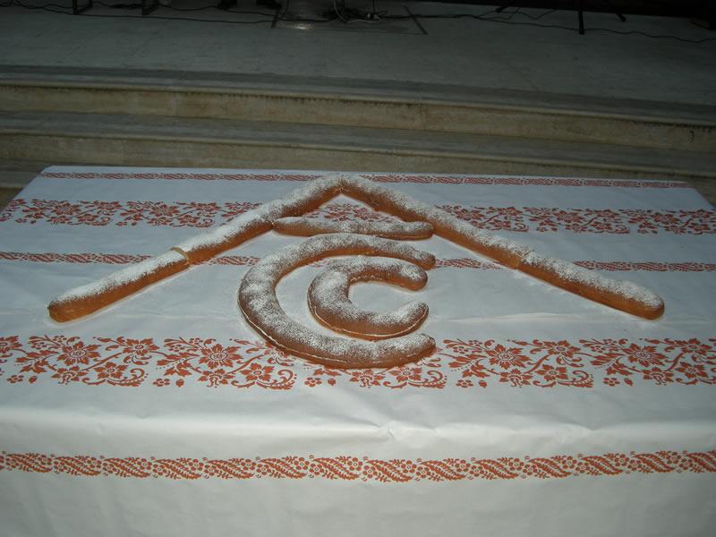 Maritozzo di Settimio Tassotti, logo ell'Associazione Commercianti Cuprensi