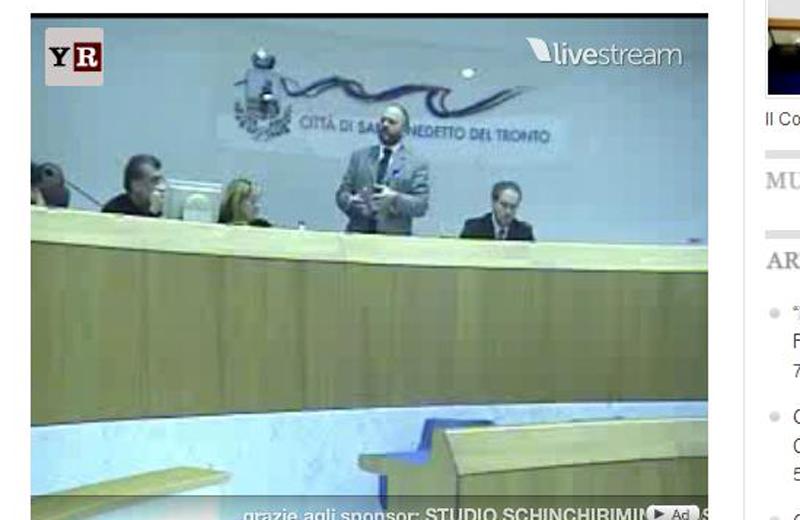 Consiglio Comunale in diretta video su RivieraOggi.it