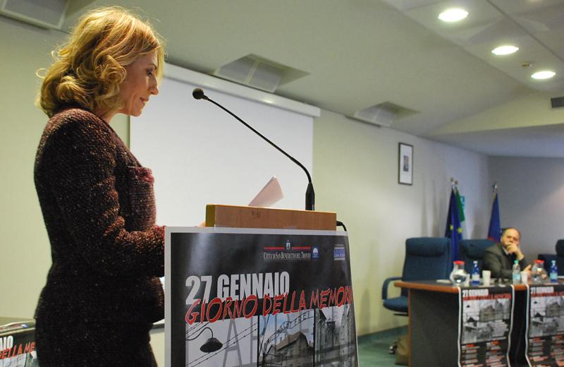 Stefania Consenti alla Giornata della Memoria del 27 gennaio 2011