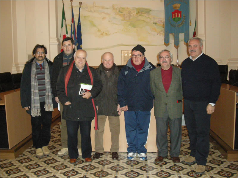 Inverno Teatrale Cuprense 2011: gli organizzatori e l'amministrazione comunale