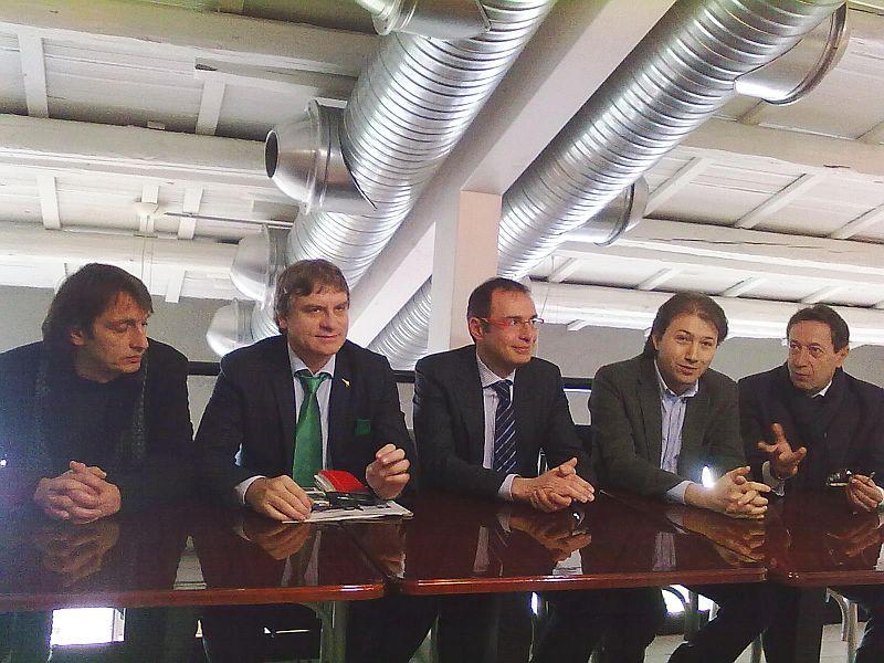 Carlo Fidanza, Luca Rodolfo Paolini, Bruno Gabrielli, Andrea Assenti, Pasqualino Piunti