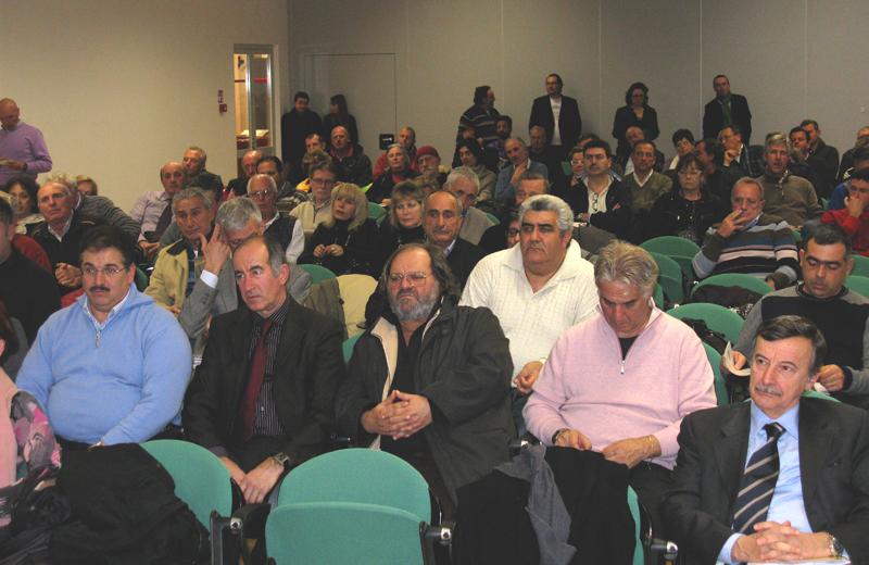 Alcuni dei presenti al convegno Itb Italia a Balnearia 2011