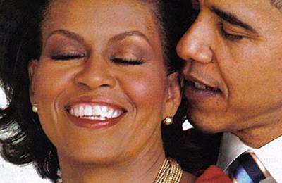 Michelle Obama e Barack Obama Presidente degli Stati Uniti