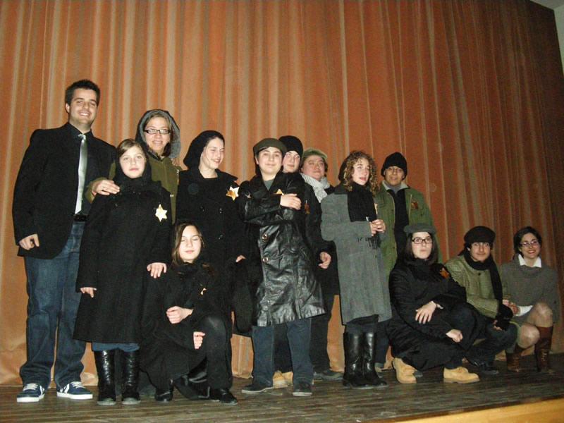 RagazzinScena, Giornata della Memoria 2011