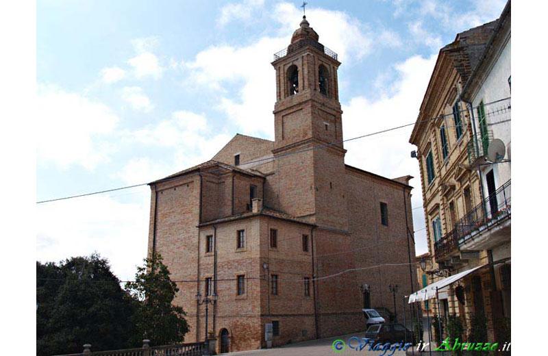 La chiesa di San Cipriano a Colonnella