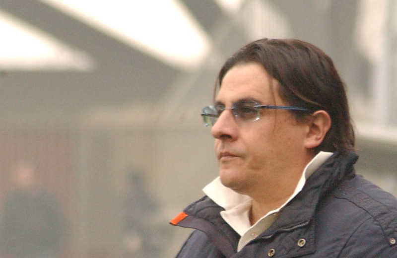 Sergio Spina scruta il futuro rossoblu (ph. Troiani)