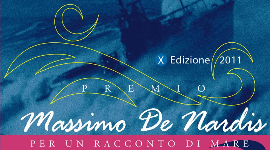 Il manifesto del decennale del premio letterario Massimo De Nardis - Un racconto di Mare