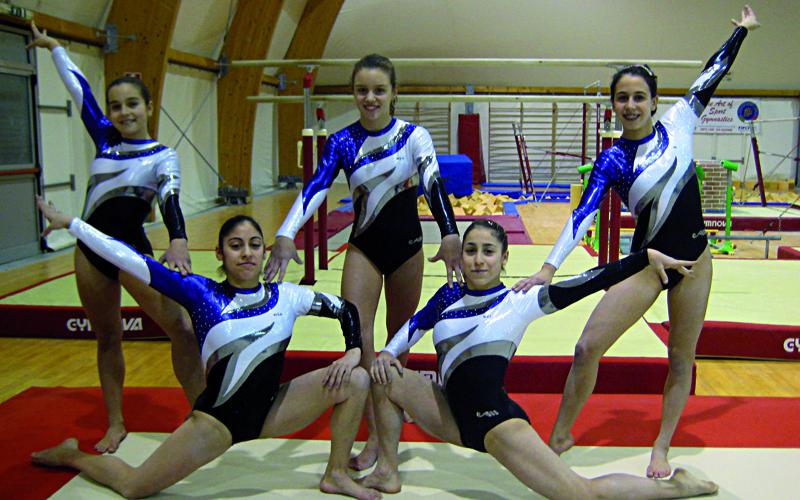 Le ginnaste della World Sport Academy