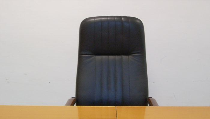 La poltrona del sindaco al Consiglio Comunale di San Benedetto