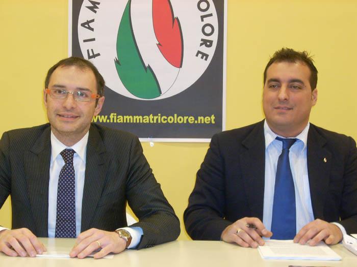 Bruno Gabrielli e Giacomo Massimiani