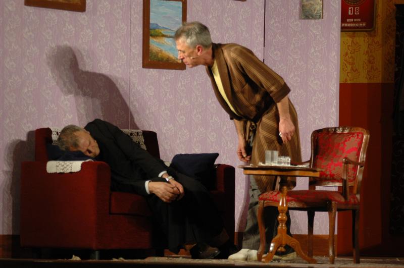 Don Tarcisio e Stefano (foto Troiani)