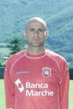 Francesco Nocera, qui nella foto ancora giocatore con la maglia dell'Ancona con la quale ottenne 2 promozioni in Serie B nelle stagioni 1996/97 e 1999/00