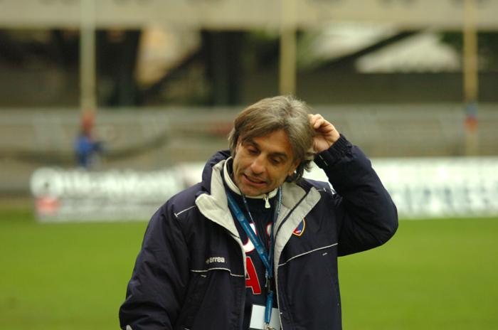 Viareggio Cup, mister Consorti (ph. Troiani)