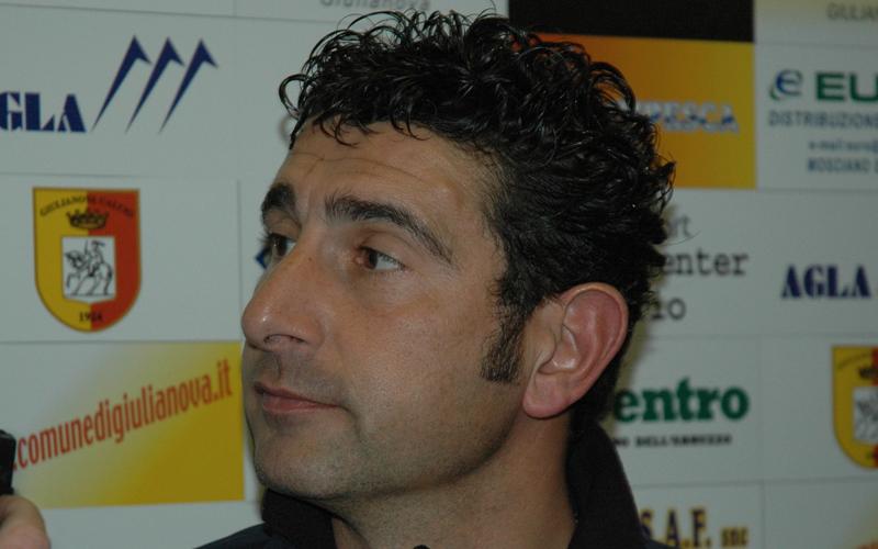 Augusto Gentilini quando allenava il Giulianova