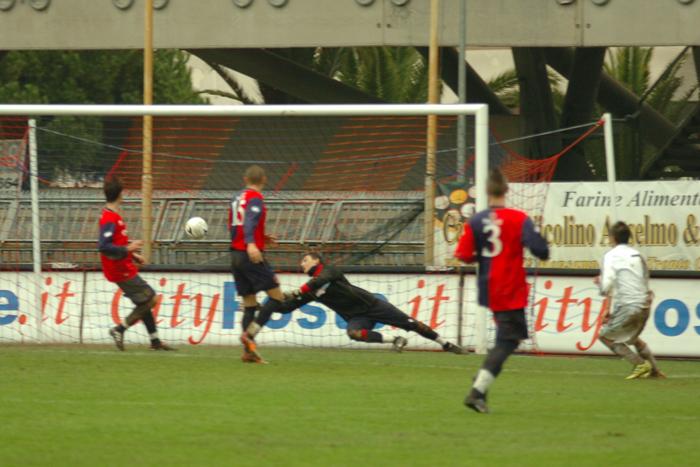 Viareggio Cup, Filippi realizza il 2-0 (ph. Troiani)