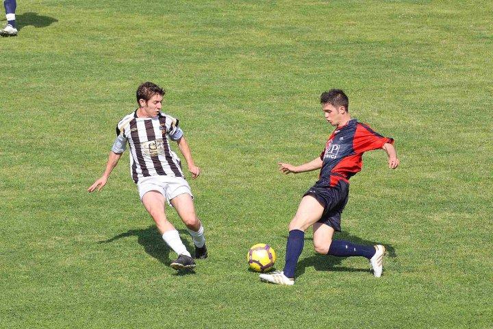 Gianluca Gabrielli, suo il gol con cui l'Atletico Piceno (undicesimo risultato utile consecutivo) si è aggiudicato il Derby Piceno contro il Centobuchi