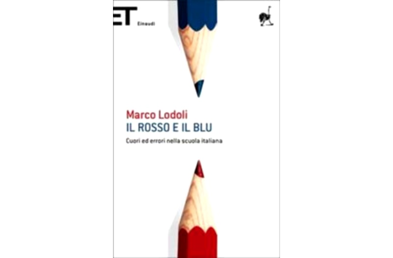 Il Rosso e il Blu di Marco Lodoli, copertina