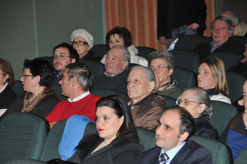 Il pubblico alla presentazione del libro di Talamonti