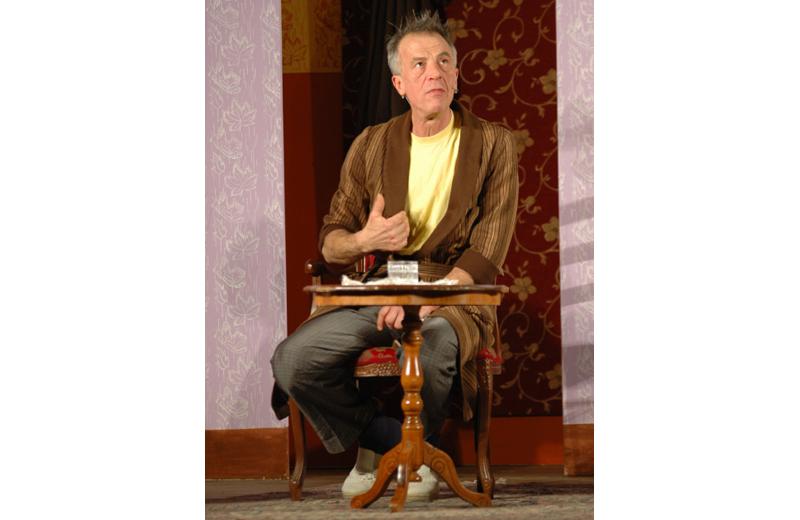 Luigi Coccia nel ruolo di Stefano il padre della sposa (foto Troiani)