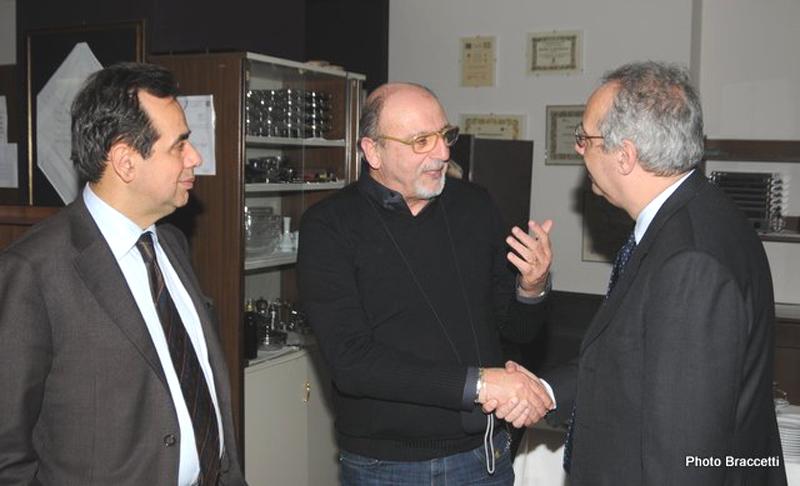 Il nostro direttore tra Pietro Colonnella e Walter Veltroni