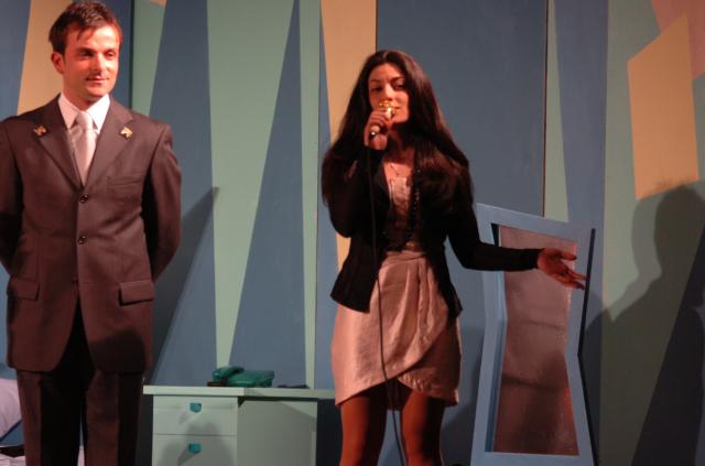 """Il """"Grande Momento"""", tante belle risate per l'Inverno Teatrale Cuprense (foto Troiani)"""