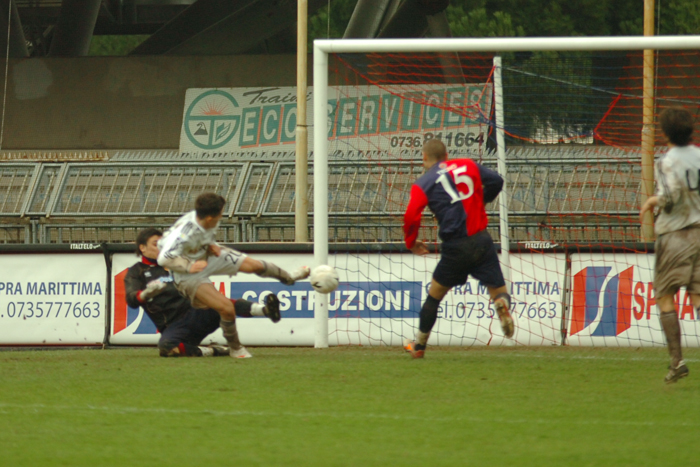 Viareggio Cup, Gavoli fa l'1-0 (ph. Troiani)