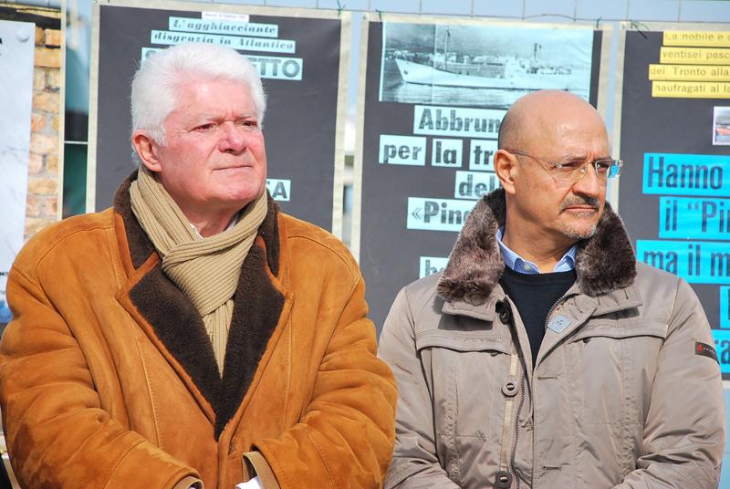 Pasquale Pignati a sinistra e Adalberto Palestini