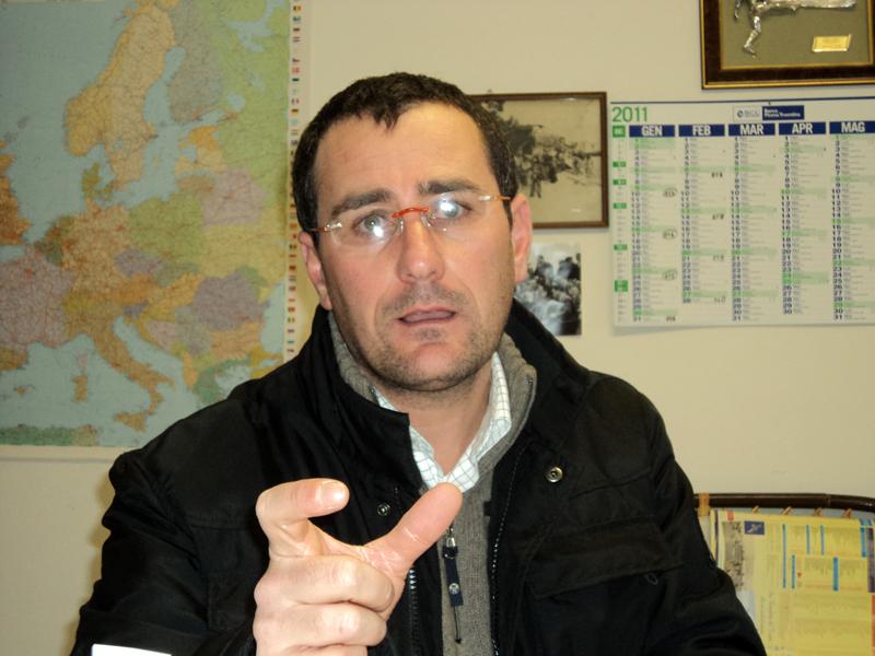 Roberto Pompei, tecnico specializzato della Multiservizi