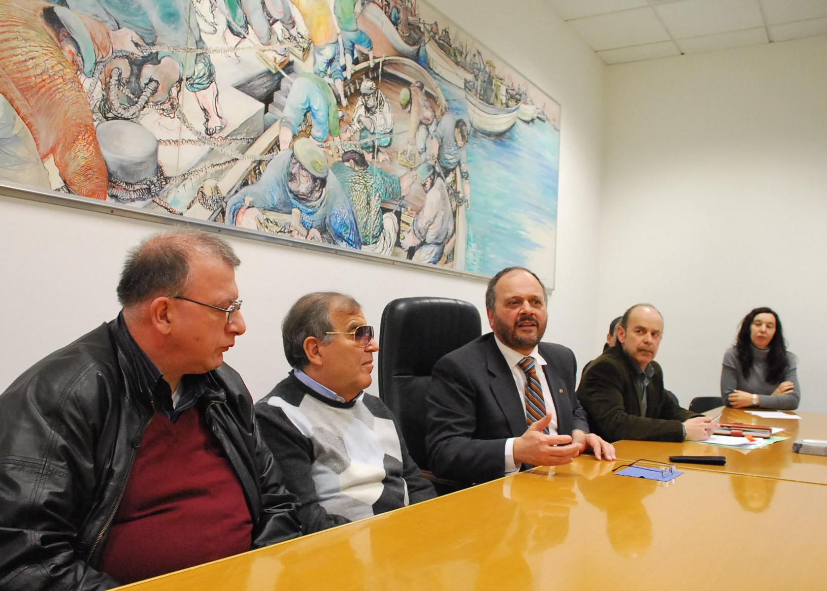 Unione Italiana Ciechi col sindaco Gaspari